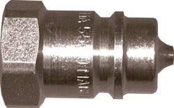Steel quick connectors