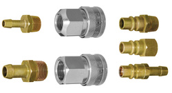 Quick-couplings for Compressed Air