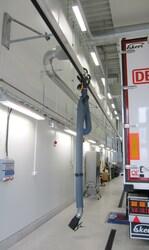 Направляющие для шлангов отвода газов