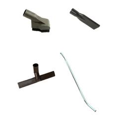 Accessories for vacuum hose reel