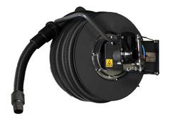 Vacuum hose reel