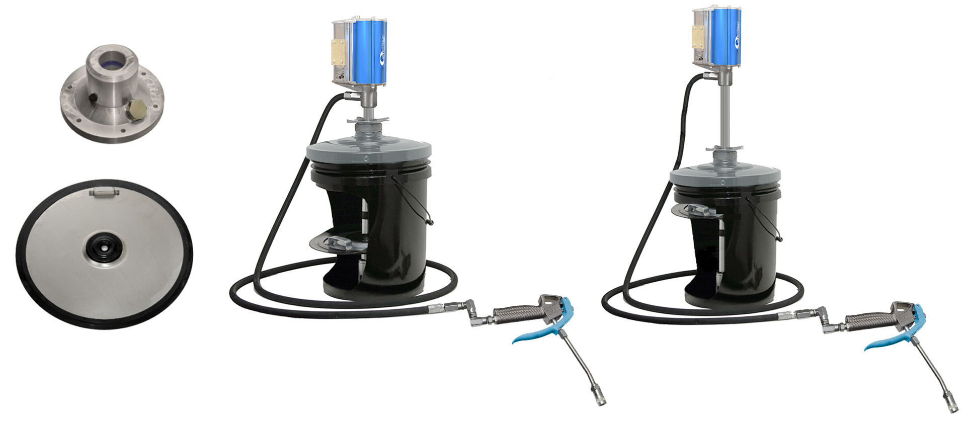 Accessories for grease pumps